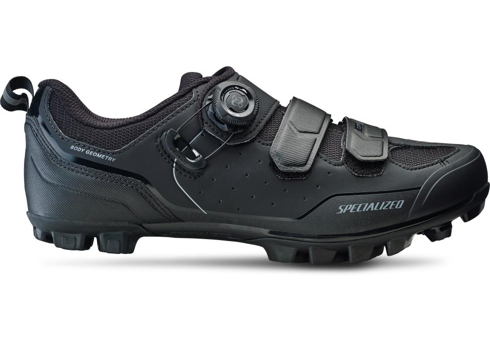 Tretry SPECIALIZED Comp Mountain Bike Shoes Black/Dark Grey