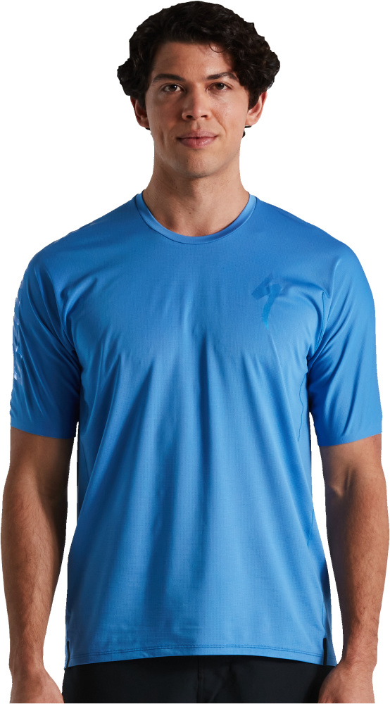 Dres SPECIALIZED Trail-Series Air Jersey SS Sky Blue