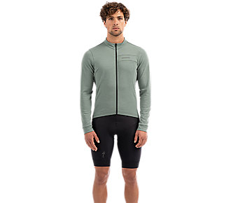 Dres SPECIALIZED Men's RBX Merino Long Sleeve Jersey Sage