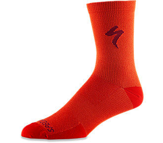 Ponožky SPECIALIZED Soft Air Road Tall Sock Rocket Red