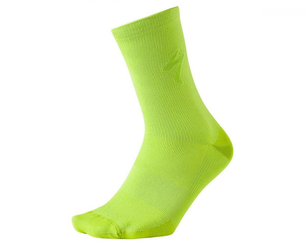 Ponožky SPECIALIZED Soft Air Reflective Tall Sock HyperViz