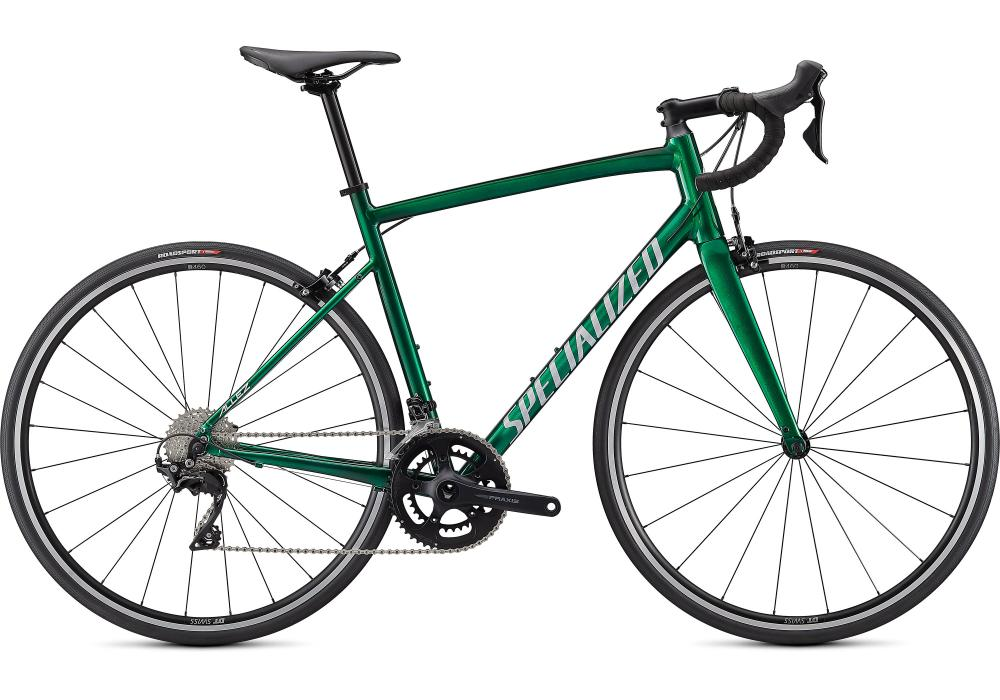 SPECIALIZED Allez Elite Gloss Green Tint-Silver Base/Silver/Carbon