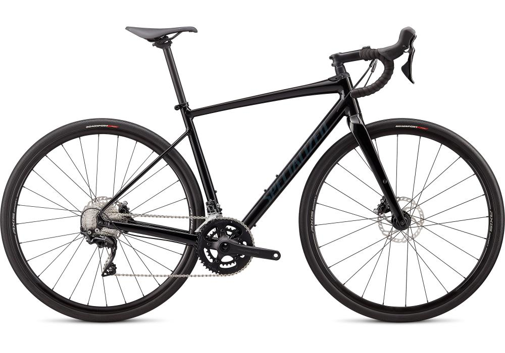 SPECIALIZED Diverge COMP E5 Gloss Black/Carbon Grey Clean - Test bike