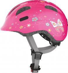 Prilba ABUS Smiley 2.0 Pink Butterfly
