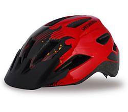 Prilba SPECIALIZED Shuffle Child Red/Black Flames