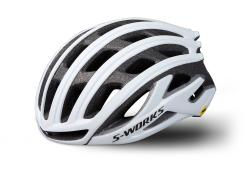 Prilba SPECIALIZED S-Works Prevail II with ANGi Matte White
