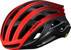 Prilba SPECIALIZED S-Works Prevail II With ANGi Rocket Red/Crimson/Black