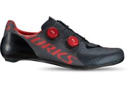 Tretry SPECIALIZED S-Works 7 Road Shoes Black/Rocket Red