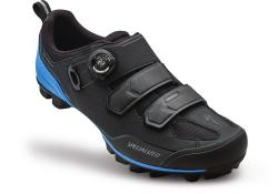 Tretry SPECIALIZED Comp Mountain Bike Shoes Black/Neon Blue