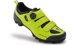 Tretry SPECIALIZED Comp Mountain Bike Shoes Black/Hyper Green
