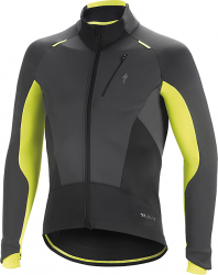 Zimná bunda SPECIALIZED Element SL ELITE Jacket anthracite/neon yellow