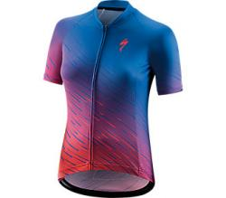 Dres SPECIALIZED SL SS Women's Jersey Pro Blue/Acid Pink