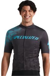 Dres SPECIALIZED RBX Comp Logo Short Sleeve Jersey Anthracite