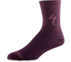 Ponožky SPECIALIZED Soft Air Road Tall Sock Cast Berry/Dusty Lilac Arrow