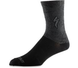 Ponožky SPECIALIZED Soft Air Road Tall Sock Black / Charcoal Terrain