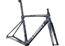 Rám SPECIALIZED S-Works Roubaix - Team Satin Black White Team Camo