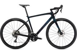 SPECIALIZED Diverge Sport Carbon Gloss Forest Green/Ice Papaya/Chrome/Wild Ferns Test Bike