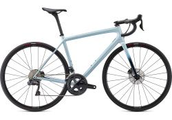 SPECIALIZED Aethos Expert Gloss Ice Blue/Teal Tint/Flake Silver - Test Bike