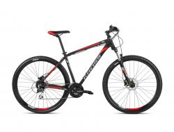 KROSS Hexagon 6.0 Black / Graphite / Red Matte